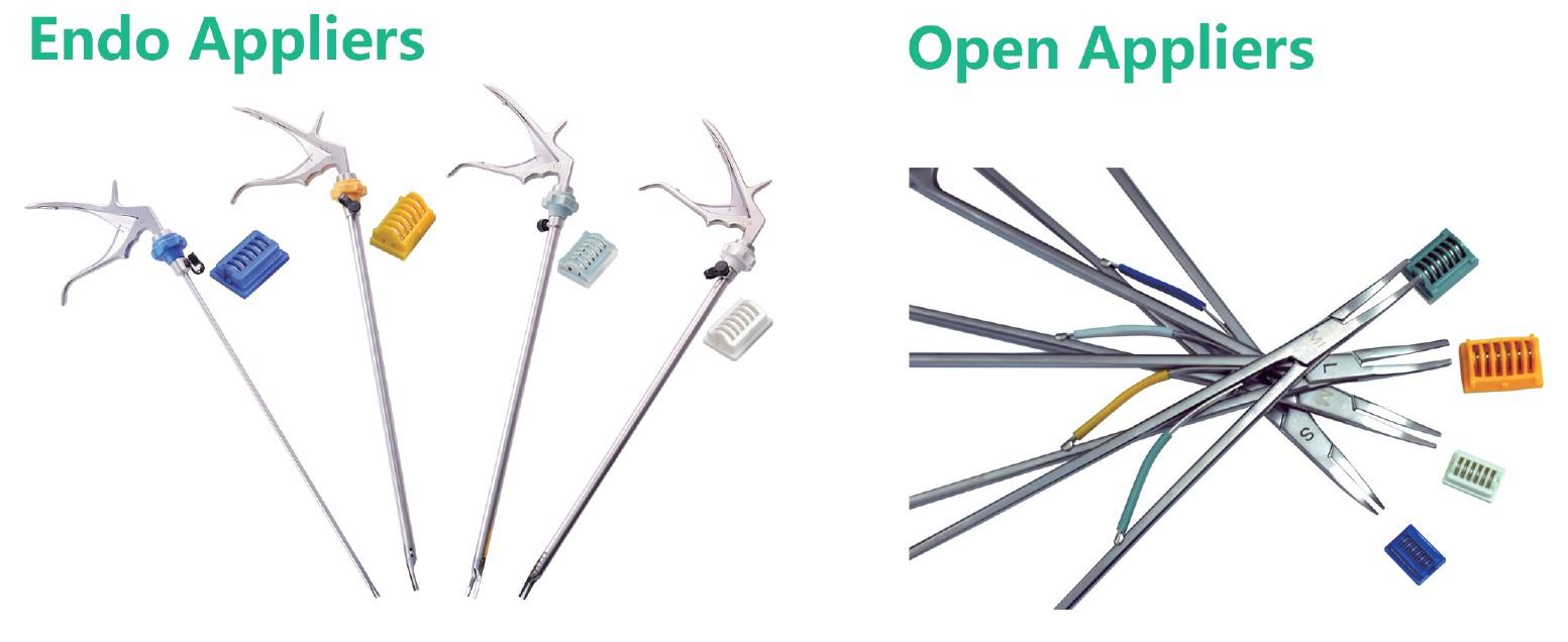 Titanium-clips-appliers